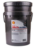 Моторное масло SHELL Helix Ultra 5W-40 20 л