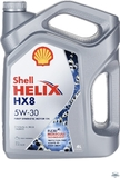 Моторное масло SHELL Helix HX8 Synthetic 5W-30, 4 л