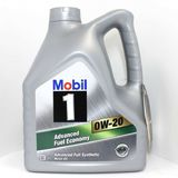 Моторное масло MOBIL 1 Advanced Fuel Economy 0W-20 4 л