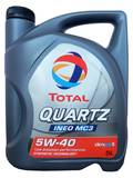 Моторное масло TOTAL Quartz INEO MC3 5W40 5 л